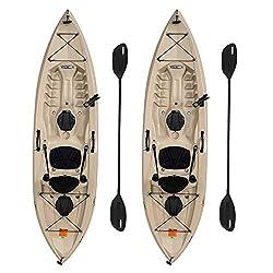 professional Lifetime 90806 Tamarack Angler 100 Fishing Kayak – 2 sets (including paddle)