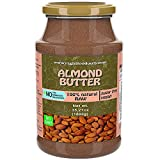 Mantequilla de Nueces Almendras 1kg | Libre de OMG | Sin Azucar | Crema Vegana | Paté 100% Superalimento (Almendra 1 kg)