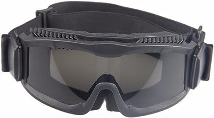 35ec39f5ea Militaire Alpha Ballistic Goggles Tactique Armée Lunettes de Soleil Airsoft  CS Paintball Lunettes 3 Lens Kit