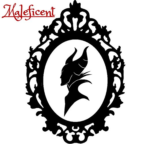 Disney Villain Schurke Portrait Halloween Gothic Sticker Aufkleber Evil Maleficent Wall Window Home Vinyl Abziehbild Decal