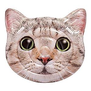 Intex 58784EU – Colchoneta Gato hiperrealista con asas