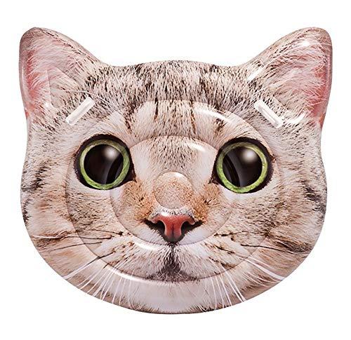Intex 58784EU - Colchoneta Gato hiperrealista con asas