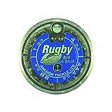 Anchor Tackle Unisexe Ballon de Rugby Boîte distributrice Shot 4Cases de Distributeur de Tailles AAA, BB, 1, 4, Noir, L