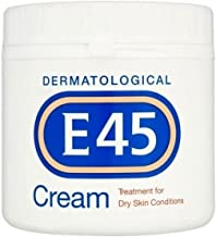E45 Dermatological Cream Treatment for Dry Skin Conditions (350g) - Pack of 2