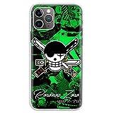 KOUHANGYU One Piece Roronoa Zoro iPhone Case Soft Clear Silicone TPU Phone Cover Funda iPhone 11 Case SU048-6