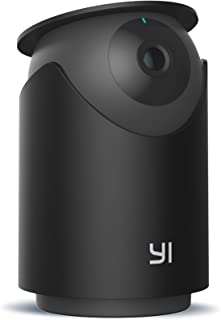 YI 2K Indoor Security Pan & Tilt Camera, WiFi Smart Nanny Pet Dog Cat Dome Cam with Night Vision, 2-Way Audio, Motion & Fa...