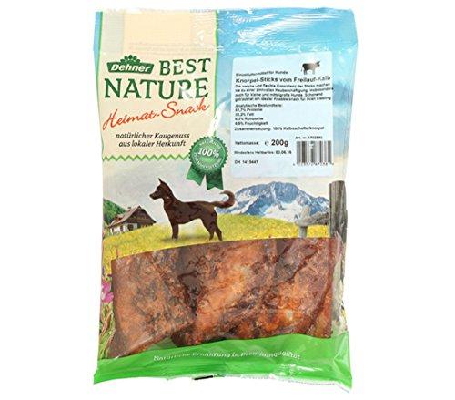 Dehner Best Nature Hundesnack, Kalbsknorpel Sticks, 200 g