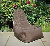 HH Home Hut Kids Bean Bag Chair Gaming Chair Beanbag Indoor & Outdoor Garden Big Arm Chair (Brown)