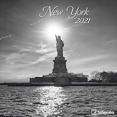 New York 2021 - Wand-Kalender - Broschüren-Kalender - 30x30 - 30x60 geöffnet - Stadt