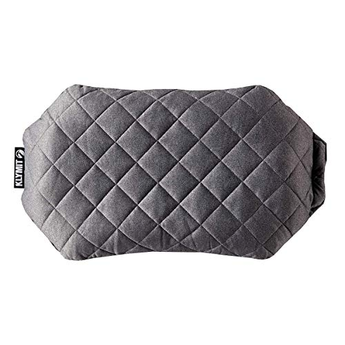 Klymit Luxe Pillow - Lightweight Luxurious Inflatable Travel Pillow (New)