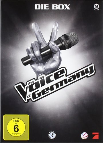 The Voice of Germany - Die Box [9 DVDs]