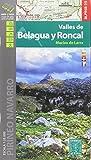 Valles de Belagua y Roncal. Macizo de Larra. 1:25.000. Mapa excursionista. Editorial Alpina. (Editorial Alpina Alpina)