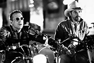 Nostalgia Store Póster de Don Johnson Mickey Rourke Harley Davidson y The Marlboro Man de 24 x 36 cm