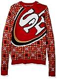 NFL San Francisco 49ers BIG LOGO 2018 Ugly Sweater, XX-Large
