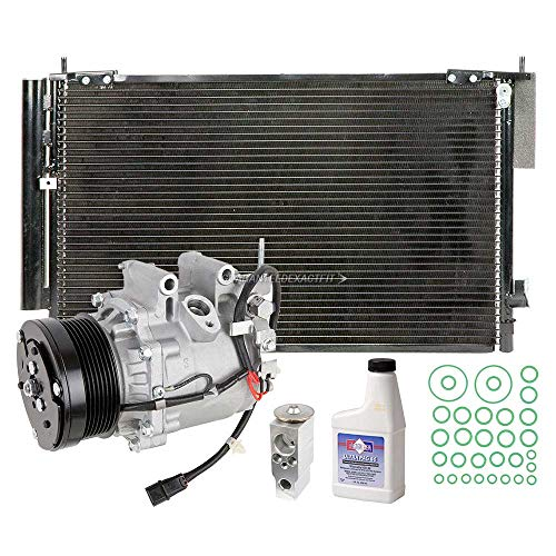 A/C Kit w/AC Compressor Condenser & Drier For Honda Civic 1.8L Coupe 2006 2007 2008 2009 2010 2011 - BuyAutoParts 60-82556R6 New