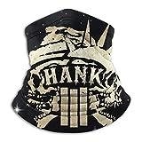 RandalSchultz Hank Williams III Neck Warmer Face Cover Shield Neck Scarf Headwear Head Wrap Balaclava Elastic Shield Unisex Windproof Breathable Reusable Anti Pollution Dust
