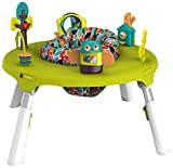 Oribel PortaPlay 4-in-1 Foldable Travel Activity Center, Turn, Bounce, Play, Transform - Forest Friends