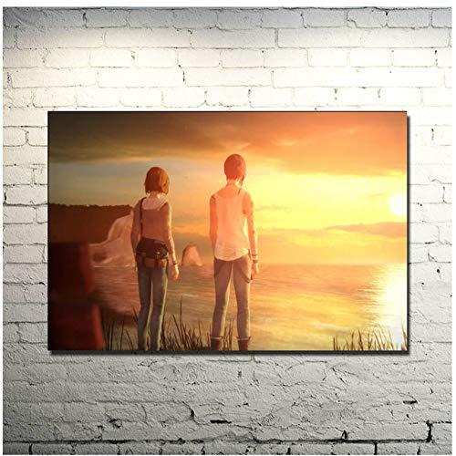 NOBRAND Life Is Strange Art Poster Print Game Pictures para La Decoración De La Sala Pintura De La Lona 40x60cm No Frame