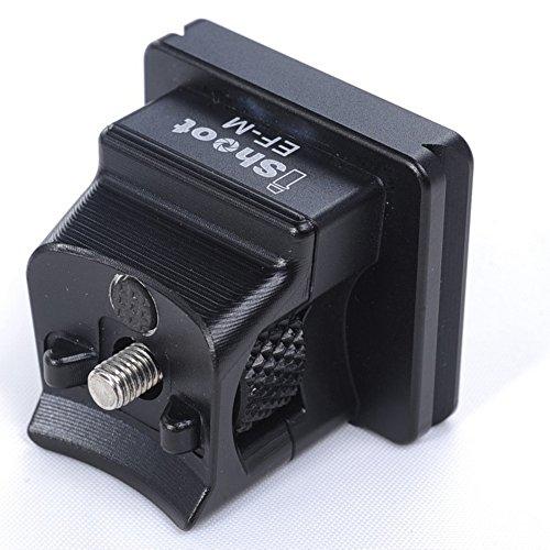 CNC - Soporte de pie de Aluminio mecanizado para Cámara Canon EF-EOS M sin Espejo, Función de Placa de Liberación Rápida