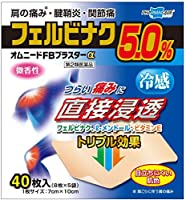 【第2類医薬品】オムニードFBプラスターα 40枚 ×2 ※セルフメディケーション税制対象商品