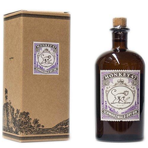 Monkey 47 Schwarzwald Dry Gin in Papierbox (1 x 0.5 l)