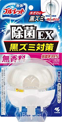液体ブルーレットおくだけ除菌EX トイレタンク芳香洗浄剤 本体 無香料 70ml