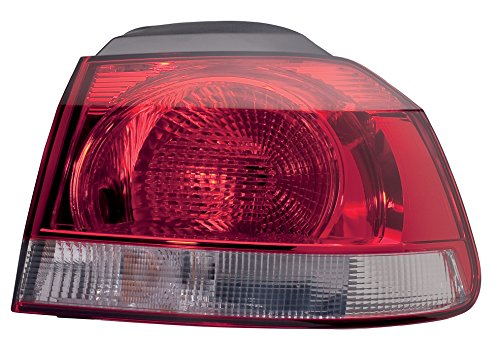 Hella achterlicht Vw Golf 6 Pr: A8B, A8C, 8Tc, 8Td bouwjaar 10/08-11/13 Links rood, wit