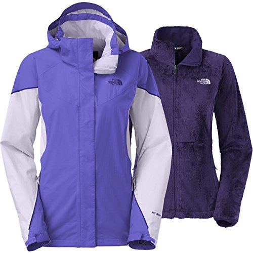The North Face Women's Boundary Triclimate Jacket, Starry Soft Garnet Purple, XS