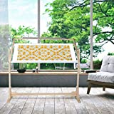 Embroidery Stand Cross Stitch Frame Stand Wooden Quilting Rack Embroidery Floor Stand Adjustable Needlework Stand 360° Rotation Craft Stand Floor Quilt Frame with Scroll Frame