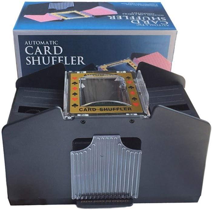 TX Elegant GIRL Automatic Translated Playing Card Decks Shuffler Shuff for 1-4