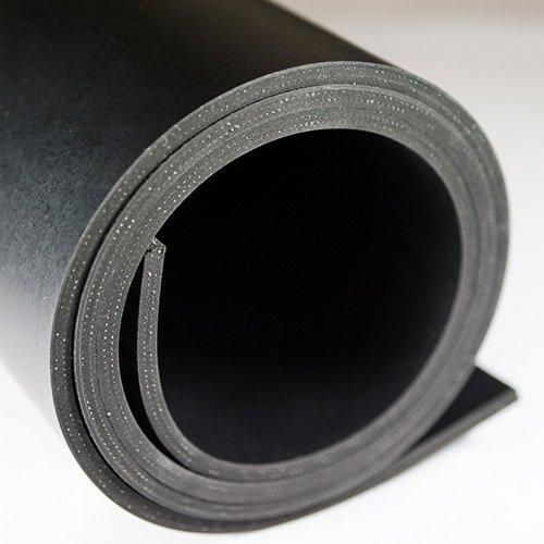 1m² Gummiplatte | Stärke: 5mm | 1,20m x 0,83m | NR/SBR | mit Einlage