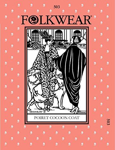 folkwear Mustern Damen Schnittmuster Poiret Cocoon Coat