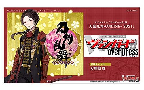 カードファイト!! ヴァンガード overDress タイトルトライアルデッキ第1弾 刀剣乱舞-ONLINE- 2021 VG-D-TTD01_0