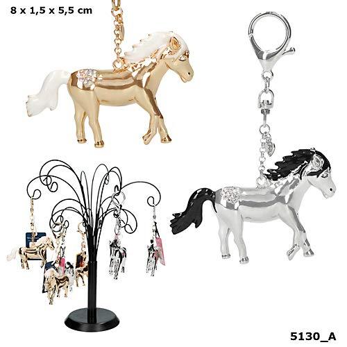 Paarden Dromen sleutelhanger Goud of zilver gekleurd