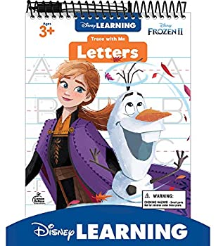 Disney Learning Frozen 2 Trace With Me Letters Tablet—Dry-Erase Tracing and Writing Practice With Upper- and Lowercase Letters and Basic Words Ages 3+  32 pgs