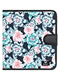 Roxy What A Day-Carpeta de 4 Anillas para Mujer Escolar, Mujer, ERJAA03615, Anthracite S Crystal Flower, Talla única