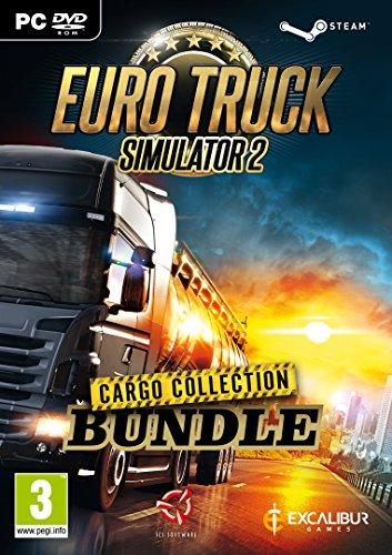 Euro Truck Simulator 2 Cargo Collection Bundle (PC DVD) (New)