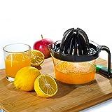 Odetina Citrus Juicer, Lemon Squeezer with Strainer and 17oz Container, Hand Juicer Orange Press...