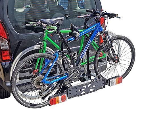 VDP Fahrradträger GRV646 E-Bike Heckträger 2 Räder AHK Fahrradheckträger Fahrrad Träger