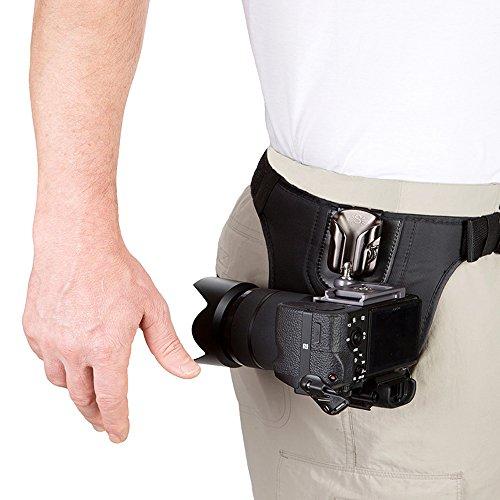 Spider Light Single Camera System Holster Hüft-Tragesystem für eine spiegellose Kamera oder kleine DSLR
