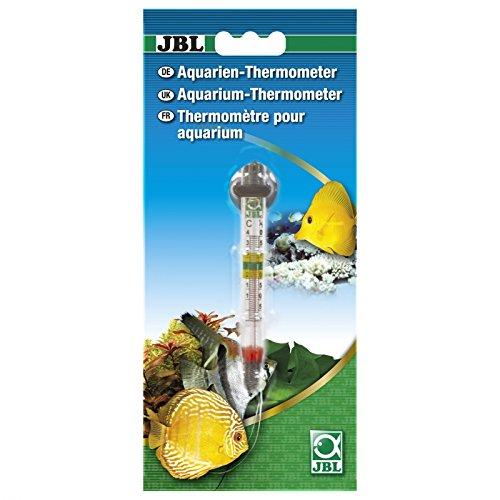 JBL slanke precisiethermometer met glazen inclusief zuighouder, aquaria-thermometer, Basis