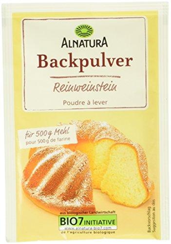 Alnatura Bio Reinweinstein Backpulver, 1er Pack ( 1x 12 Stücke )