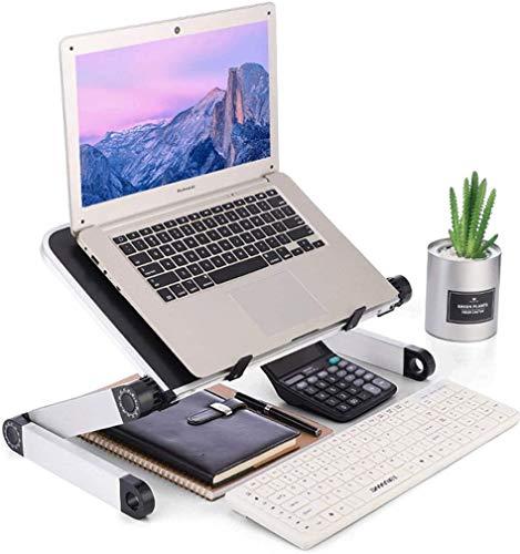 YYSDH Laptopständer Multi-Angle Mit Heat-Vent Aluminium Faltbarer Halter Verstellbarer Notebook Ständer Kompatibel Für Laptops Einschließlich MacBook Pro/Air Lenovo Samsung HP,A