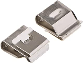 Real Stainless 180X20Mm Steel 50 Pcs/Pack Pv Wire Cable Clip Management For Solar Mounting Frame Applications