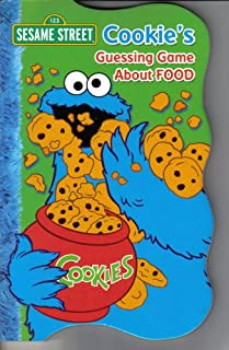 Sesame Street Collection Set of 4 Books (Cookie's Guessing Game About Food, Elmo's Guessing Game About Colors, Grover's Guessing Game About Animals, & Big Bird's Guessing Game About Shapes)