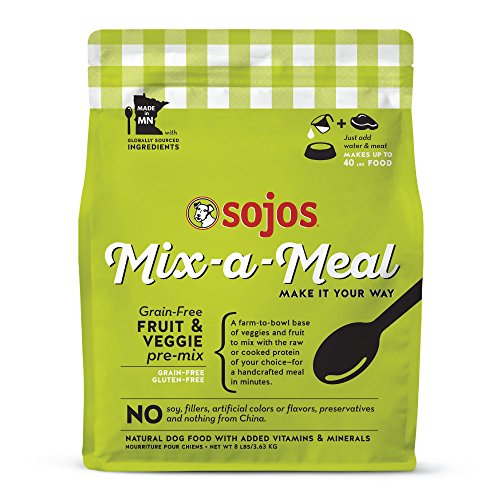 Sojos Mix-A-Meal Grain-Free Pre-Mix Dog Food