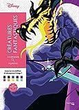Coloriages mystères Disney Créatures fantastiques: Coloriez les chiffres et découvrez l'image !