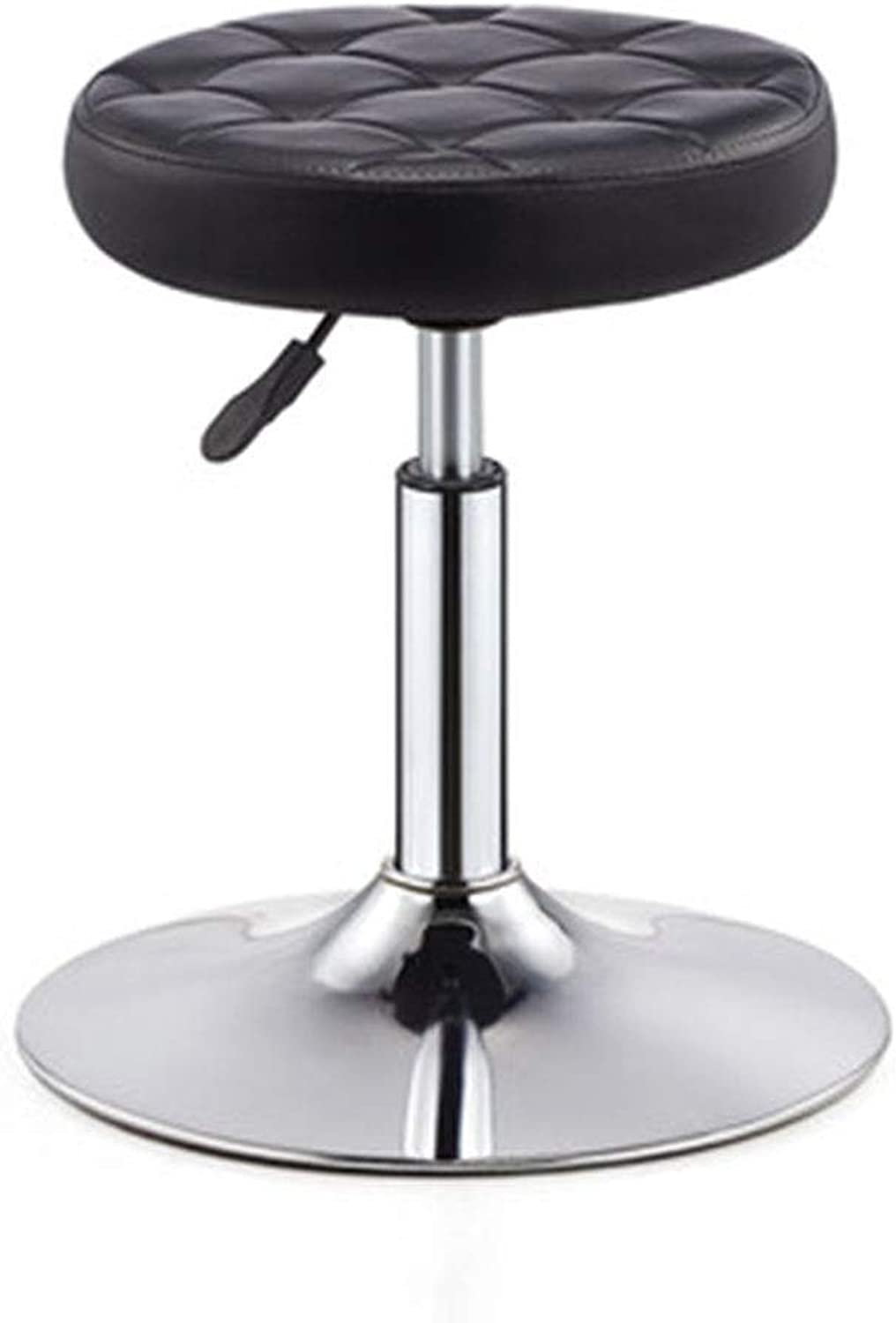 Bar Chair Hairdressing Stool Lifting Stool Stool Bench Swivel Stool Shaped Cotton Sedentary Does Not Deform 7 colors 1 Size (color   B)