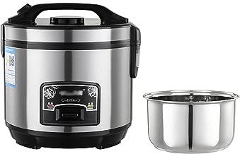 Rijstfornuizen en stoomboot (2-6L) Verwijderbare 201 RVS Rijstkom/Automatische Warm & Cook Indicatoren/Maatbeker/Spatel (M...