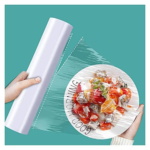 XYSQ 200 Hojas De Película Adhesiva para Mantener Los Alimentos Frescos, Bolsa De Mantenimiento Fresca, Tapas Elásticas Universales para Cuencos Elásticos, Necesarios para La Cocina Y El Hogar